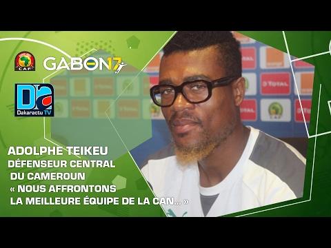 Adolphe Teikeu, défenseur central du Cameroun : « Nous affrontons la meilleure équipe de la CAN… »