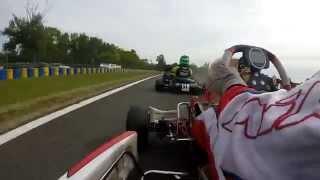 Championnat de France KZ2 à Varennes: caméra embarquée en finale 2