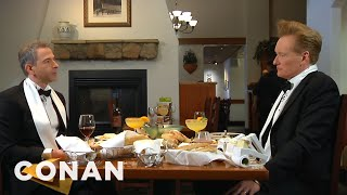 CONAN Highlight: Last year, Jordan Schlansky took Conan to his favorite Italian restaurant in the world. Now Conan's returning the favor... More CONAN ...