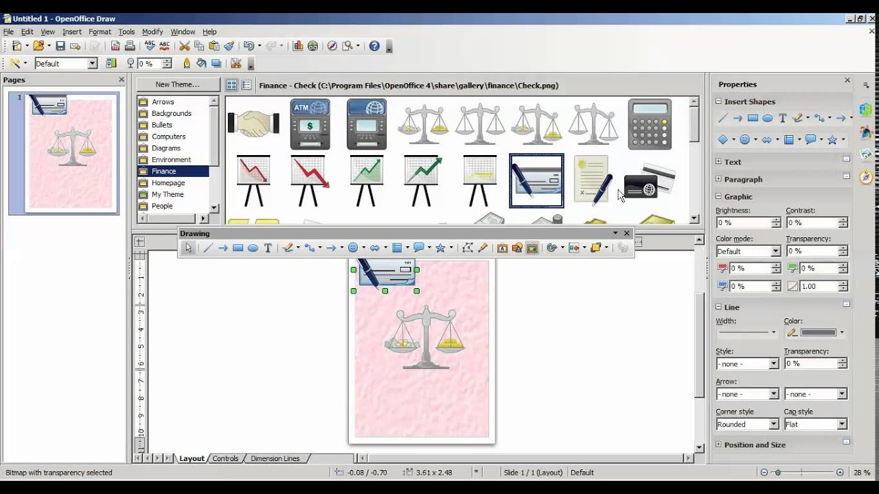 how to create front page design in openoffice draw in tamil youtube