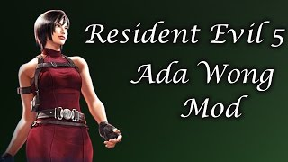 mod showcase resident evil 5 ada re2 mod by evillord