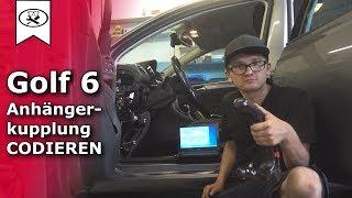 Golf 6 Anhängerkupplung Codieren | encode trailer hitch | VitjaWolf | Tutorial | HD