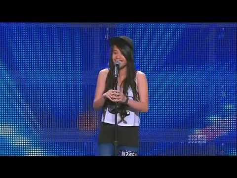 Angel Tairua - Schoolgirl - Australia's Got Talent 2013 - Audition [FULL]