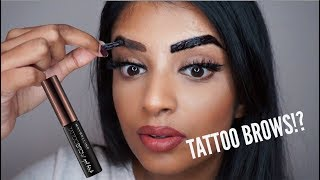 Maybelline Peel Off Tattoo Brow Tint First Impression | Worth the Hype? | Nivii06