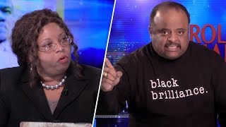 Roland And Black Conservative Rumble Over Trump Having