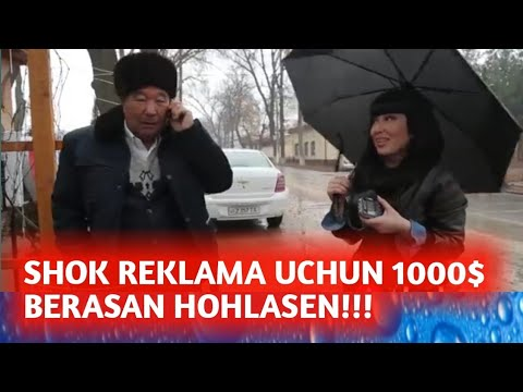 Jumanazar Aka Talabim Reklama Uchun Shokuz 1000$