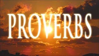 The Book of Proverbs - Audio: God's Creative Power Caught on Camera Pt 6