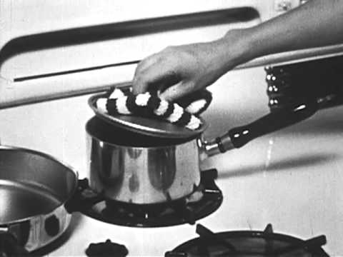 Cooking - Kitchen Safety 1949 - Youtube