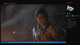 Rise Of The Tomb Raider Live Stream Episode 2