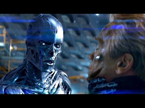 Get Terminator Genisys Blu-Ray Feature - Arnold vs. 1984 Arnold (HD) Arnold Schwarzenegger Movie 2015 Screenshots