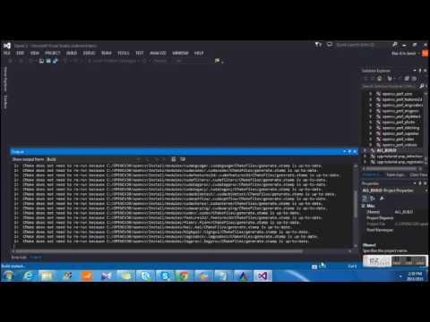 OpenCV with Microsoft Visual Studio