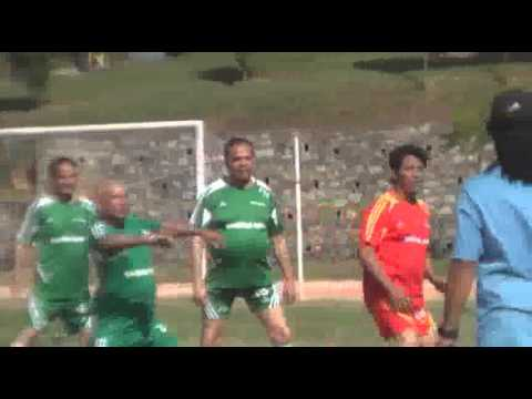 Football match between politicians and artists held in Kathmandu