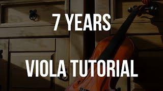 Viola Tutorial: 7 Years