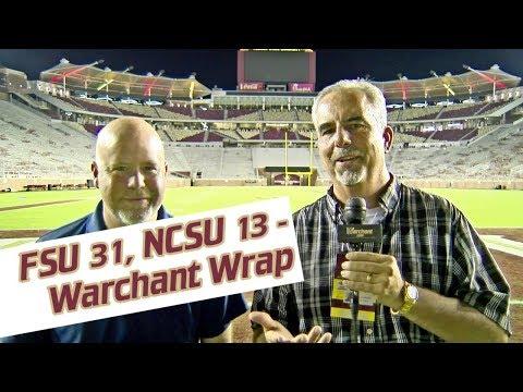 Preston Scott -  WATCH! FSU/NCST Postgame Warchant TV