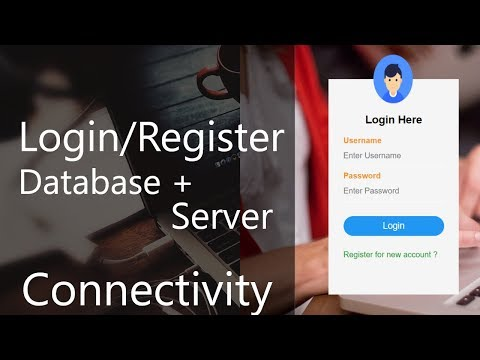 Register/Login Form Database Connection | Server Connectivity | Validate Data | 6 | Tamil Hacks