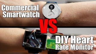Commercial Smartwatch VS DIY Heart Rate Monitor