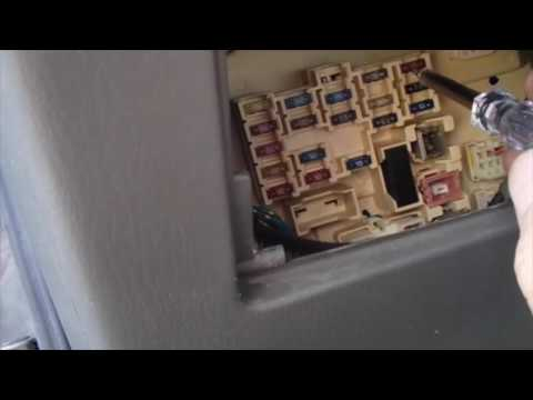 Turn Signal Fuse Location 1998 Camry - YouTube