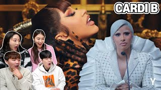 Korean Boy&Girl React To 'Cardi B' for the first time | Y