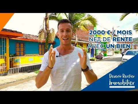 2000€ / mois net de rente avec UN bien !