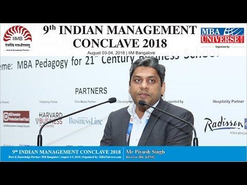 Mr Piyush Singh, Director HR, KPMG