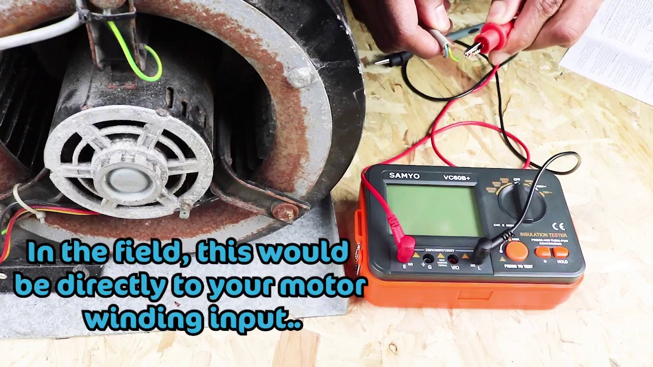 how to make a megger for testing