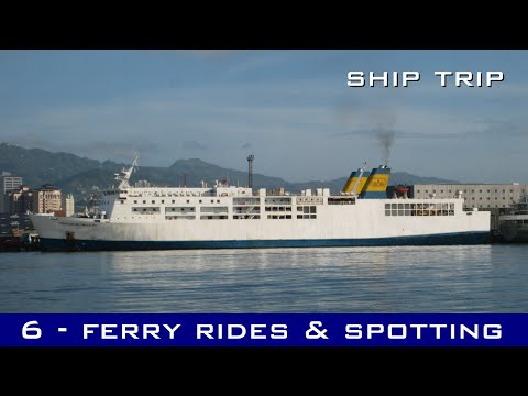Ship Trip #6 - Tagbilaran to Cebu trip, Cebu port shipspotting, and Cebu to Mactan trip
