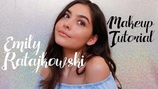 Emily Ratajkowski Bronze Makeup Tutorial