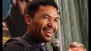 MANNY PACQUIAO REACTS TO ASIAN JOKE BY BRONER