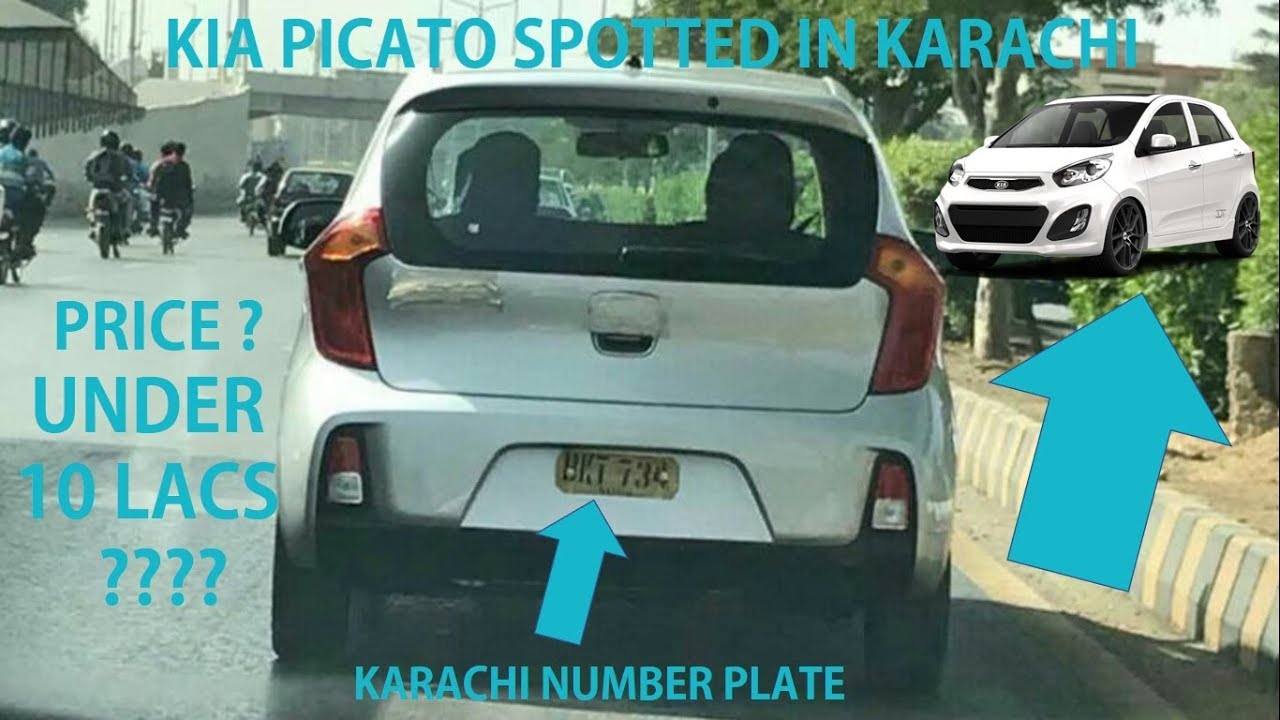 Kia Picanto Spotted Testing In Pakistan Karachi Details Youtube