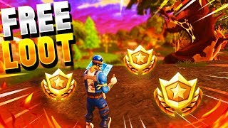 Carte au trésor de LA MIRE DE NOUVEAU SECRETMD ! - Fortnite Battle Royale FREE Battle Pass Tier!