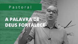 A PALAVRA DE DEUS FORTALECE | Rev. Juliano Socio | Isaias 40:29