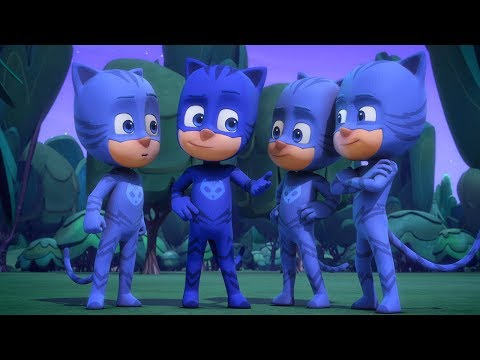 PJ Masks en Español - Episodio 5 - Gatuno al cuadrado - Dibujos Animados