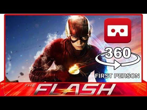 360° VR VIDEO - THE FLASH - DC COMICS - VIRTUAL REALITY 3D