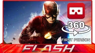 360° VR VIDEO - THE FLASH - DC…