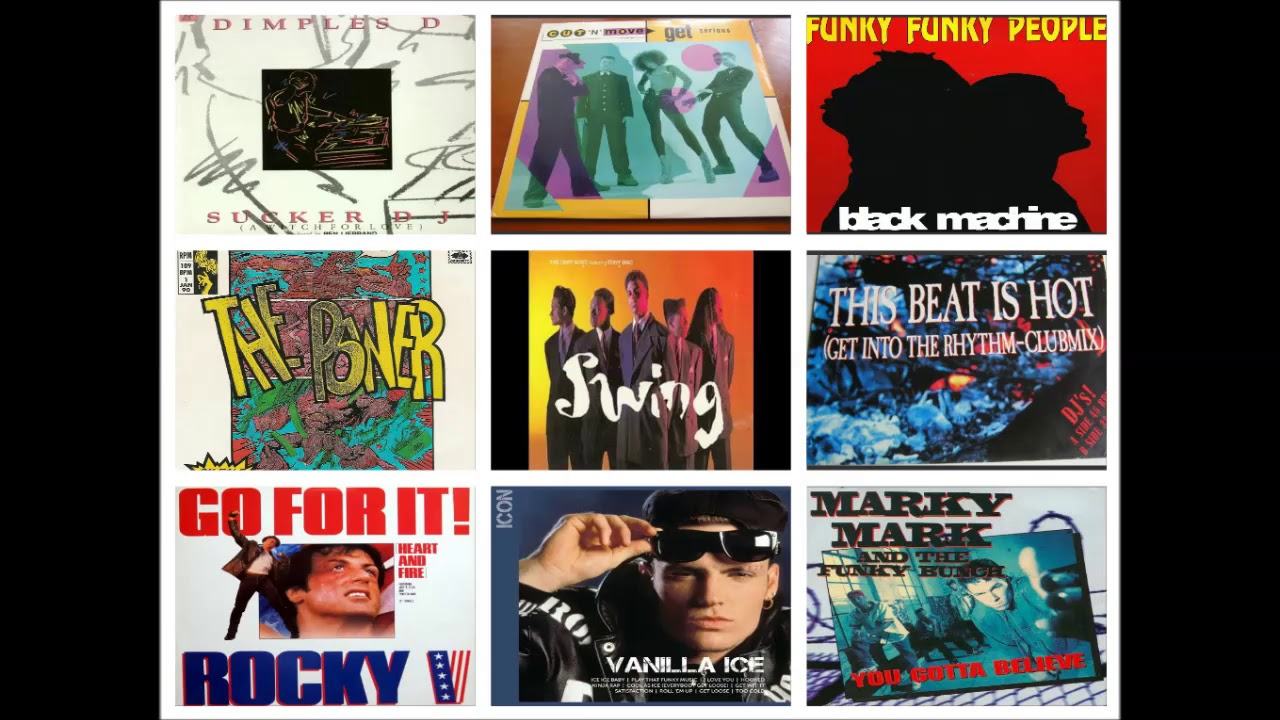 Download Euro-Rap 90s Party 10 (Vanilla Ice, Dimples D, Marky Mark, Snap )