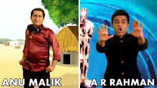 A.R.Rahman Vs Anu Malik Rap Battle | Shudh Desi Raps