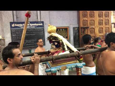 Swami Desikan 750th Mahotsavam - Swami Vedanta Desikar Sannidhi, Mylapore - Day 2 Evening.