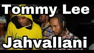 TOMMY LEE SPARTA & JAHVALLANI ON STAGE @ FLUSH BEFORE SUPPORTERS ALTERCATION