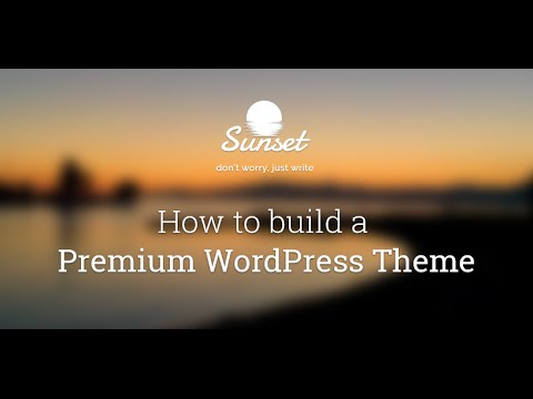 Create a Premium WordPress Theme