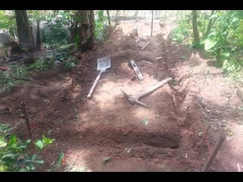 Elaboraci n de un estanque para tilapias parte 1 youtube for Fabricacion de estanques