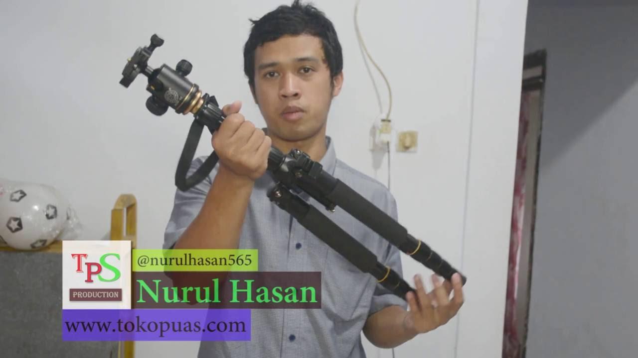 Review Tripod Beike Murah Qzsd 666 Youtube 02 Q666