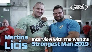 Martins Licis - Interview with The World's Strongest Man 2019 [NAPISY PL]