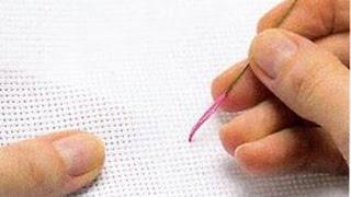 Вышивание крестом, Секреты вышивания