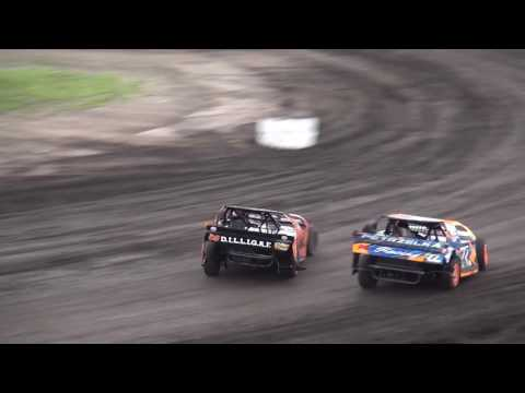 IMCA Sport Mod feature Benton County Speedway 8/7/16