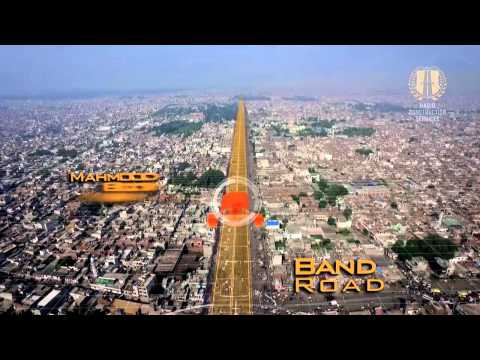 3D View of Orange Line Metro Train Lahore