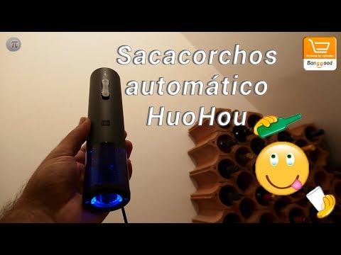🍷 Review Sacacorchos Automático HuoHou 🤪 Anunciado En La Tienda Youpin De Xiaomi