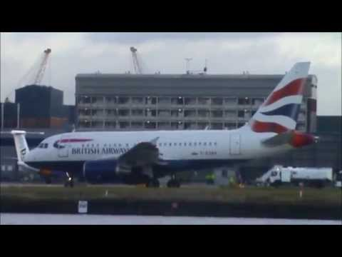 Planes at London City Airport | Tuesday 3rd February 2015