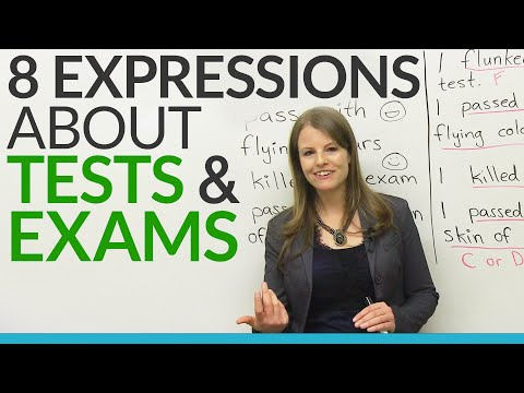 Learn English: 8 TEST & EXAM Expressions