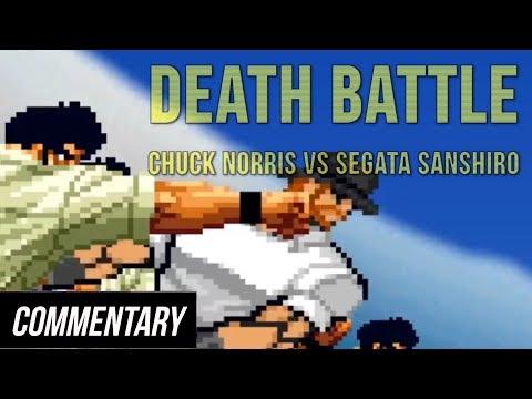[Blind Reaction] Death Battle - Chuck Norris Vs Segata Sanshiro
