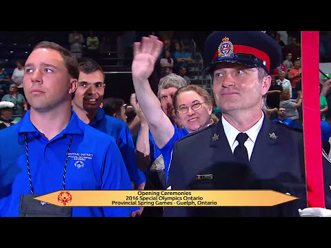 2016 Special Olympics Ontario Spring Games Opening Ceremony